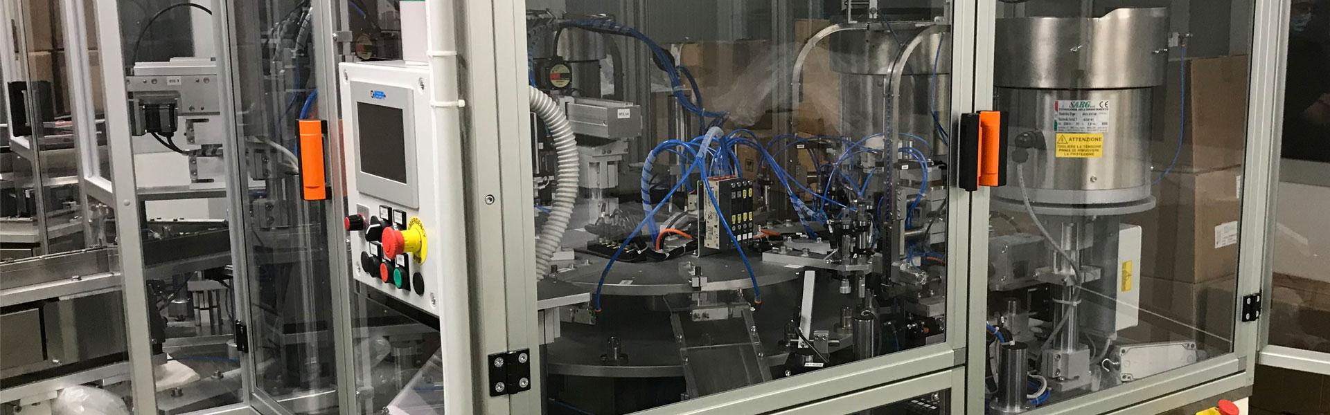 TECNOELETTRA S.R.L. a socio unico - Realizzazione di: macchine speciali per assemblaggio, automazione di macchine ed impianti, robotica industriale, attrezzature di controllo, quadri elettrici di comando e controllo